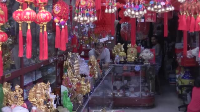 normally bustling chinatowns from melbourne to london have fallen quiet and businesses are struggling to survive as fears over the deadly novel... - rippled stock videos & royalty-free footage