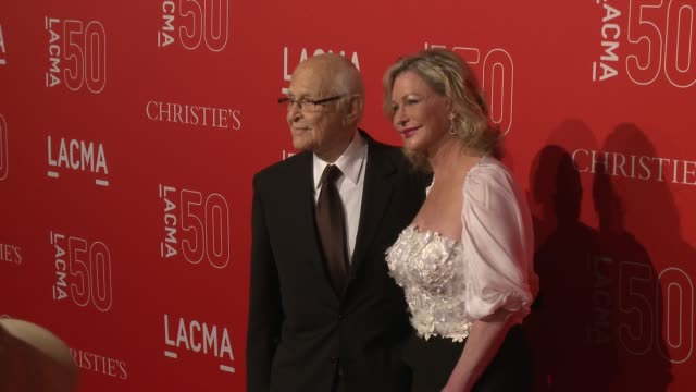norman lear at lacma's 50th anniversary gala at lacma on april 18 2015 in los angeles california - norman lear stock videos and b-roll footage