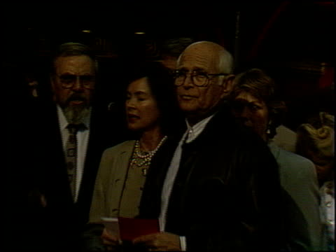 norman lear at the 'city slickers' premiere at grauman's chinese theatre in hollywood california on june 8 1991 - norman lear stock videos and b-roll footage