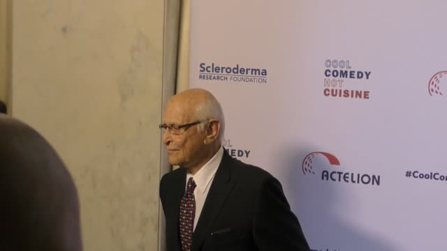 norman lear at the cool comedy hot cuisine 30th annual benefit for the scleroderma research foundation at the beverly wilshire four seasons hotel on... - norman lear stock videos and b-roll footage