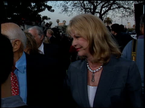 norman lear at the 'earth to la' premiere at wadsworth theatre in los angeles california on may 10 2002 - norman lear stock videos and b-roll footage