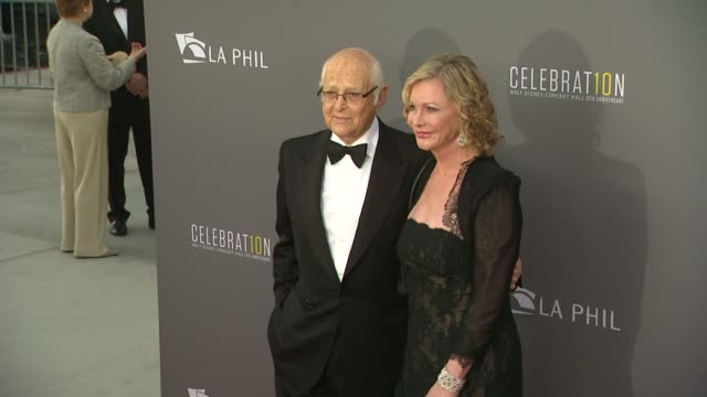 norman lear at the los angeles philharmonic's walt disney concert hall 10th anniversary 09/30/13 - norman lear stock videos and b-roll footage