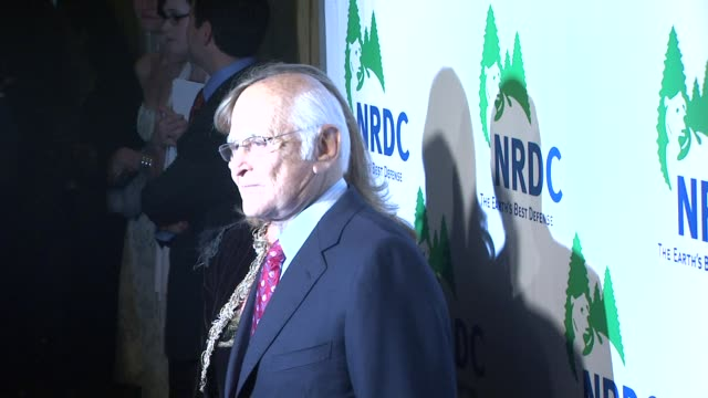 norman lear at the national resources defense council's 20th anniversary celebration at beverly hills ca - national resources defense council stock videos & royalty-free footage