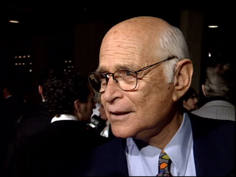 norman lear at the 'sunset boulevard' premiere at shubert theater in century city california on november 30 1993 - norman lear stock videos and b-roll footage