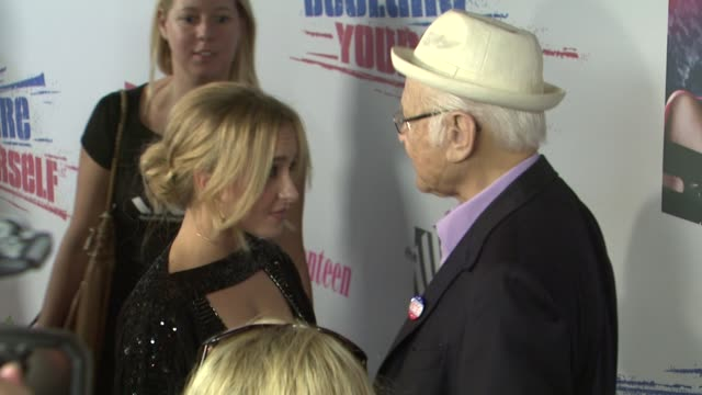 norman lear hayden panettiere norman at the declare yourself's 'last call' hollywood party at los angeles ca - norman lear stock videos and b-roll footage