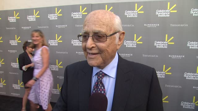 interview norman lear on roger ebert on the sundance institute on jean stapleton passing at 3rd annual 'celebrate sundance institute' los angeles... - stapleton stock videos & royalty-free footage