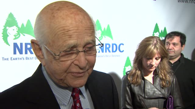 norman lear on the biggest changes he has seen in the past 20 years at the national resources defense council's 20th anniversary celebration at... - national resources defense council stock videos & royalty-free footage
