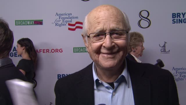 norman lear on the event at the american foundation for equal rights broadway impact present 8 on 3/3/12 in los angeles ca - norman lear stock videos and b-roll footage