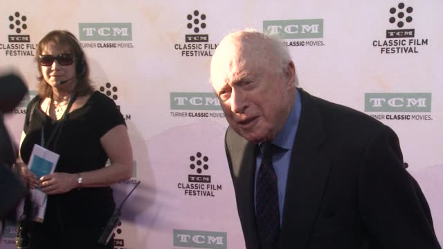 norman lloyd at the 50th anniversary screening of the sound of music at tcl chinese theatre imax on march 26 2015 in hollywood california - tcl chinese theatre stock videos & royalty-free footage