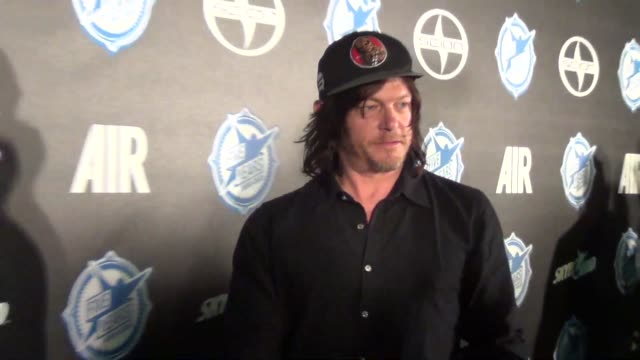 norman reedus at comiccon celebrity sightings on july 10 2015 in san diego california - san diego comic con stock videos and b-roll footage