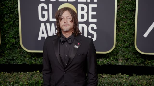 Norman Reedus at the 75th Annual Golden Globe Awards at The Beverly Hilton Hotel on January 07 2018 in Beverly Hills California