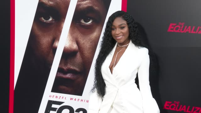 Normani at the 'The Equalizer 2' Premiere at TCL Chinese Theatre on July 17 2018 in Hollywood California