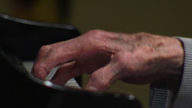norm's arthritic piano fingers - piano stock videos & royalty-free footage
