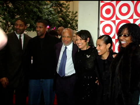 Norn Nixon Denzel Washington Barry Gordy Debbie Allen and Jada Pinkett Smith at the Debbie Allen Dance Academy Presentation of 'Dreams' at Freud...