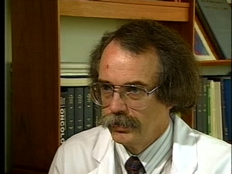 norris cancer center's dr. ronald ross says that physical activity can reduce the risk of some cancers. - healthcare and medicine or illness or food and drink or fitness or exercise or wellbeing stock videos & royalty-free footage