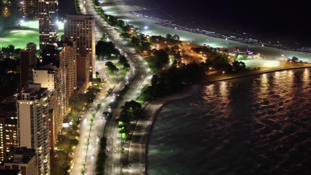TL HA PAN North Avenue Beach night