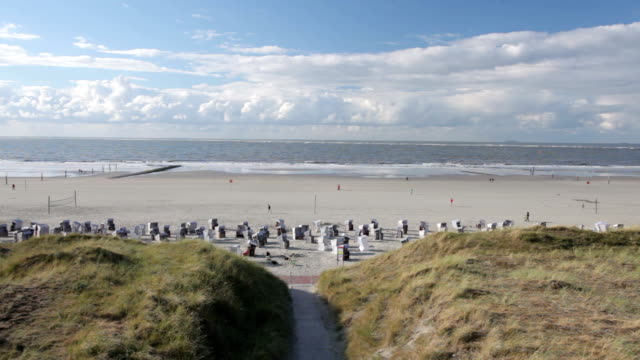 North Beach at sunset - Norderney