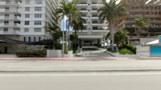 north beach xxi synced series right view driving process plate - passenger point of view stock videos & royalty-free footage