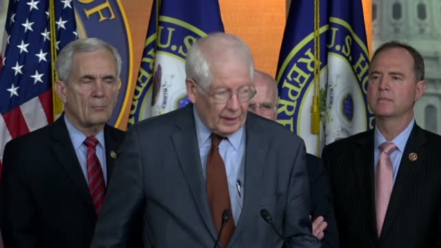 north carolina congressman david price says at a press briefing days after president donald trump withdrew the united states from the 2015 iran... - carolina del nord stato usa video stock e b–roll