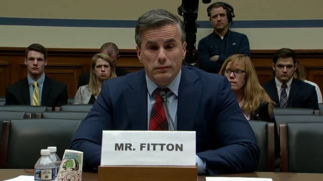 north carolina congressman mark meadows quotes to judicial watch president tom fitton at a house oversight and government reform subcommittee hearing... - asking stock videos & royalty-free footage