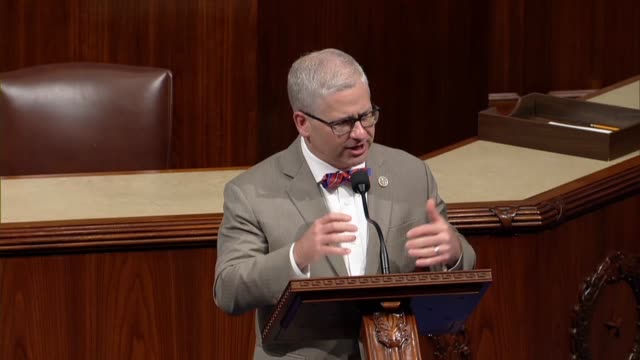 north carolina congressman patrick mchenry says the long dark shadow of the financial crisis was over and policymakers were shifting to needed... - data breach stock videos and b-roll footage
