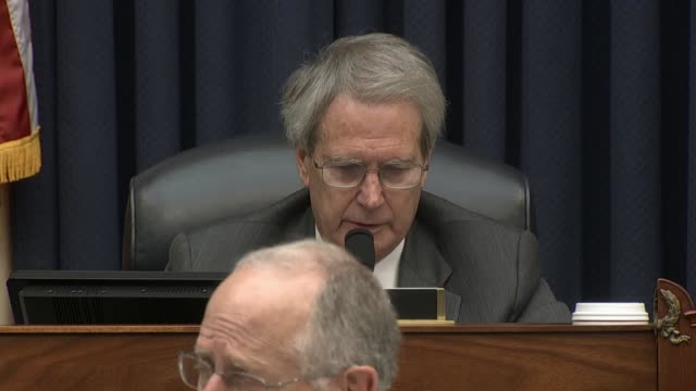 North Carolina Congressman Walter Jones reads a letter written to speaker Paul Ryan seeking a floor debate on declaring war in accordance with the...