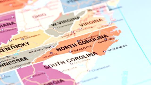 north carolina from usa states - charlotte north carolina stock videos & royalty-free footage