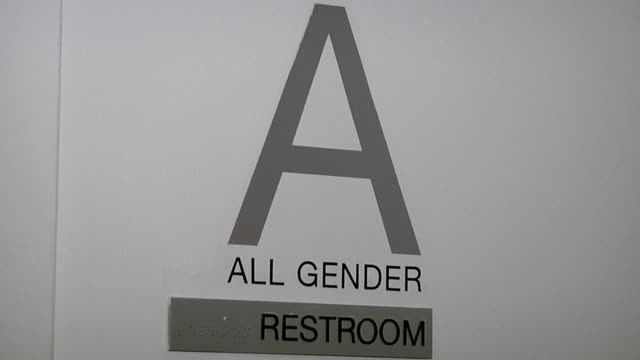 north carolina lawmakers are weighing whether to scrap a law that served as a spark in america's bathroom wars over transgender identity and the... - disegno di legge video stock e b–roll