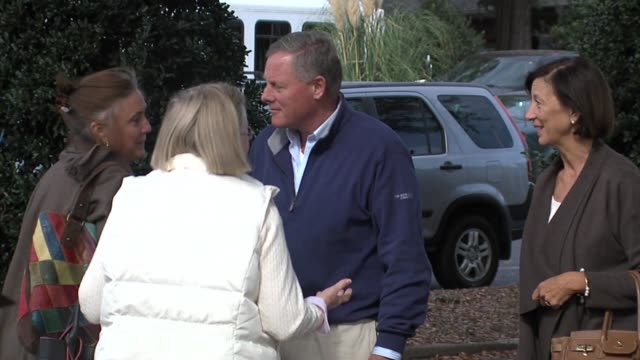 wghp north carolina us senator richard burr at polling place on election day on nov 8 2016 - senator stock videos & royalty-free footage