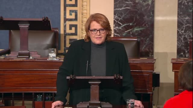 North Dakota Senator Heidi Heitkamp says as the Stop Enabling Sex Traffickers Act was set to pass that she could not imagine a more heinous act and...