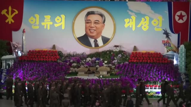 an exhibition of kimilsungia a flower of the orchid family named after north korea's founder kim il sung is held in pyongyang on april 14 a day... - founder stock videos and b-roll footage