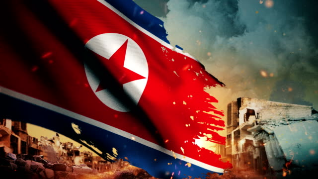 Worlds Best Korean Flag Wallpaper Stock Video Clips And