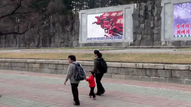 stockvideo's en b-roll-footage met north korea has been gradually opening itself up again to the rest of the world amid some signs of change after sealing its borders to almost all... - geboren in