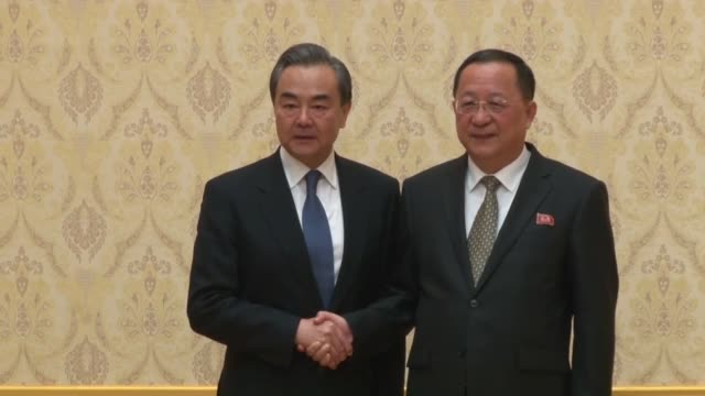 Chinese Foreign Minister Wang Yi held talks Wednesday with his North Korean counterpart Ri Yong Ho in Pyongyang where the two presumably discussed...