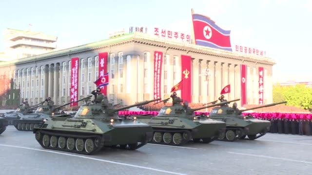 north korea says it had successfully tested an engine designed for an inter continental ballistic missile icbm that would guarantee an eventual... - nuclear weapon stock videos & royalty-free footage