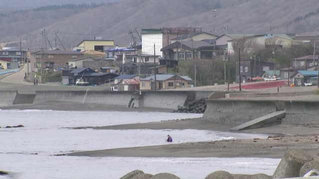 north korea shows progress in nuclear disarmament in talks with japan and china japan hokkaido erimo town ext wide shot small fishing boats wide shot... - disarmament stock videos and b-roll footage
