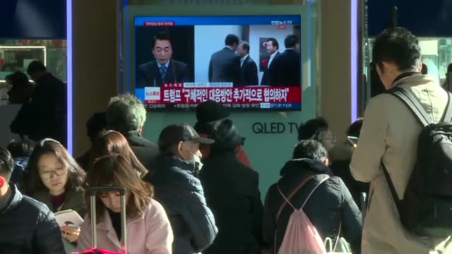 North Korea test fires an intercontinental ballistic missile in a major challenge to US President Donald Trump after he slapped fresh sanctions on...