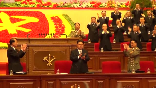 North Korean leader Kim Jong Un's new title was announced Monday chairman of the country's ruling party before its onceinageneration congress...