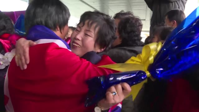 North Korea's under 20 women's football team returns to an enthusiastic welcome in Pyongyang after beating France to win the 2016 FIFA under 20...