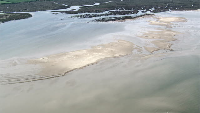 north norfolk coast  - aerial view - england, norfolk, united kingdom - north stock videos and b-roll footage