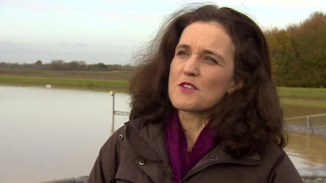 theresa villiers vists lincolnshire england lincolnshire ext theresa villiers interview sot - lincolnshire stock videos & royalty-free footage
