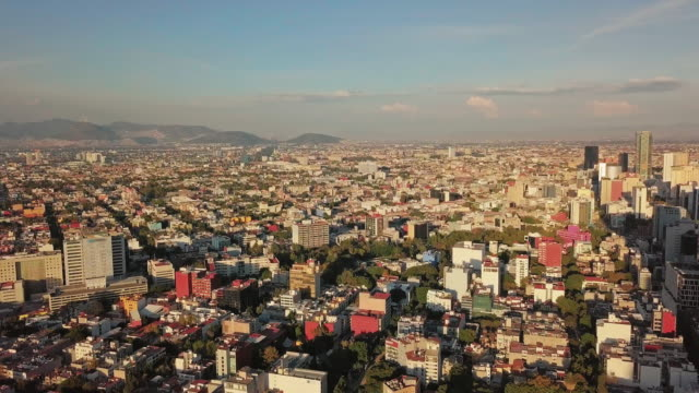 north part of mexico city and a beautiful urban shot - avenue stock videos & royalty-free footage