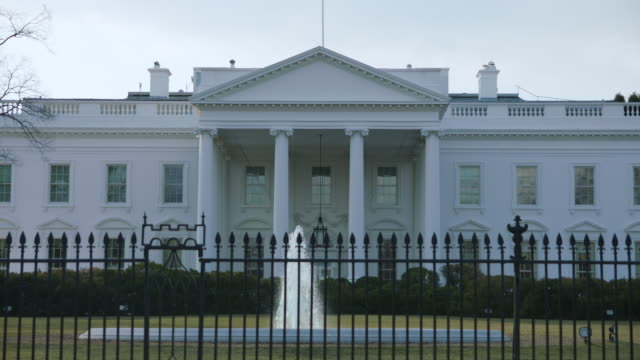 north side of white house - weißes haus stock-videos und b-roll-filmmaterial