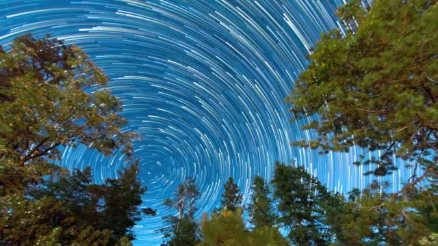 vídeos de stock, filmes e b-roll de estrela do norte - trilha de estrelas - oeste dos estados unidos
