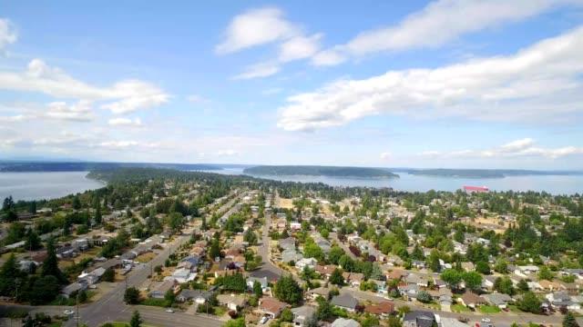 north tacoma, washington - pierce county washington state stock videos & royalty-free footage