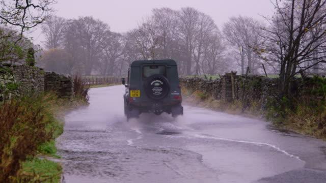 vidéos et rushes de north yorkshire floods - yorkshire