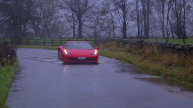 vidéos et rushes de north yorkshire floods - angleterre