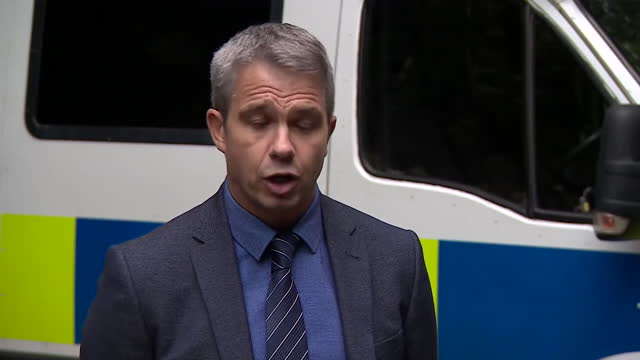 """north yorkshire police detective superintendent wayne fox saying he is pursuing one of a """"number of lines of inquiry"""" in the disappearance of claudia... - metal stock videos & royalty-free footage"""
