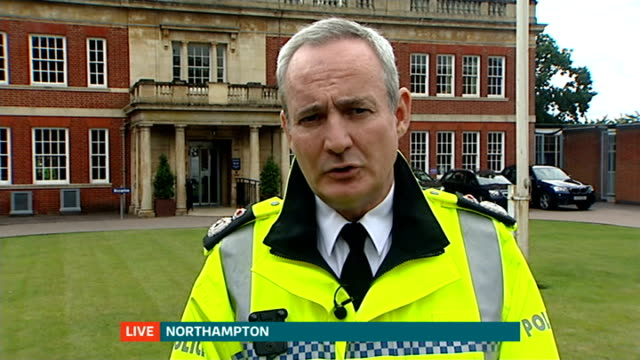 Northamptonshire police chief suggests private 'drunk tanks' for binge drinkers ENGLAND London GIR INT Chief Constable Adrian Lee LIVE interview from...