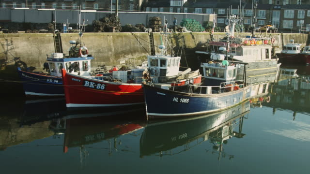 Northeastern England Fishing Village